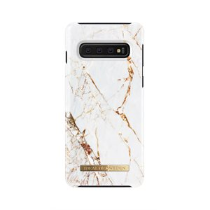 iDeal of Sweden Fashion Case Samsung Galaxy S10, Carrara Gold