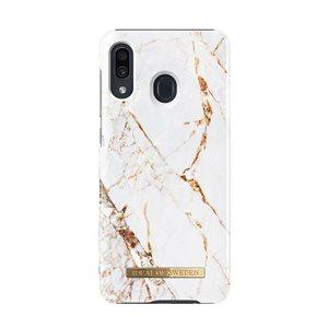 iDeal of Sweden Fashion Case for Samsung Galaxy A20, Carrara Gold