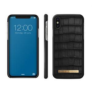 iDeal Fashion Case Capri for iPhone Xs / X, Black Croc