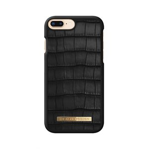 iDeal of Sweden Fashion Case Capri for iPhone 8 / 7 / 6s Plus, Black Croc