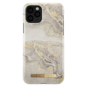 iDeal of Sweden Fashion Case for iPhone 11 Pro, Sparkle Greige Marble