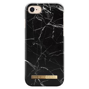 iDeal Fashion Case iPhone 8 / 7 / 6 / 6s, Black Marble