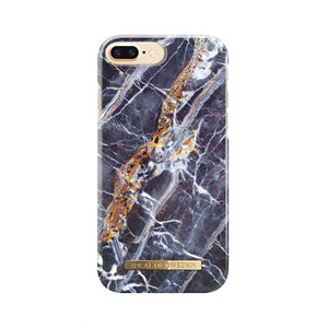 iDeal of Sweden Fashion Case for iPhone 8 / 7 Plus, Midnight Blue Marble