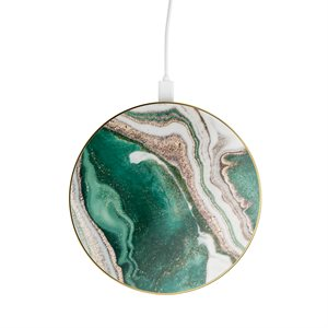 iDeal of Sweden Fashion Qi Charger, Golden Jade Marble