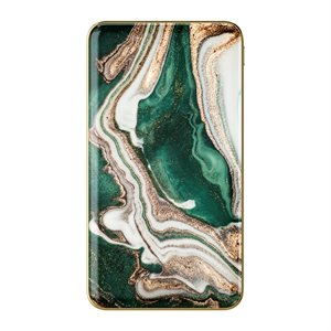 iDeal of Sweden Fashion Power Bank, Golden Jade Marble