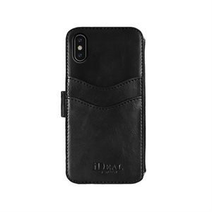 iDeal Stockholm Wallet for iPhone X, Black