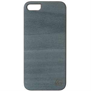 Affinity Wood Cover for iPhone 5 / 5s, Bolivar Blue with White Sides
