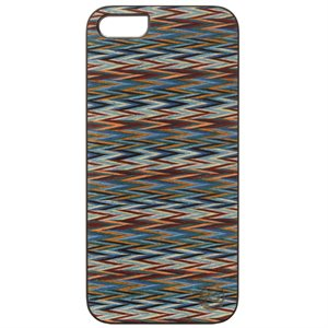 Affinity Wood Cover for iPhone 5 / s, Enrico's Check with Black Sides