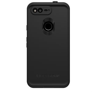 LifeProof FRÉ Case for Google Pixel 5, Asphalt Black