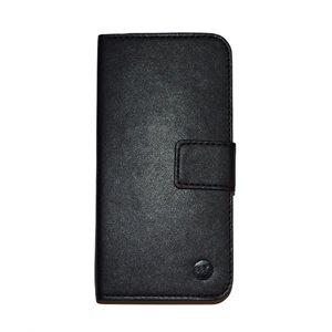 Moda Folio Case for iPhone 6 / 6s, Black / Tan