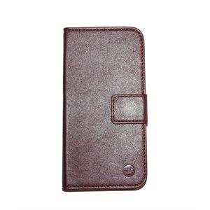 Étui Moda Folio pour iPhone 6 / 6s, Sang de bœuf / Noir