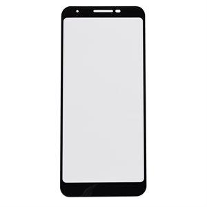 Protecteur d'écrans en verre moda pour Google Pixel 3a, transparent / noir
