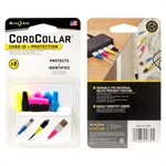 Nite Ize CordCollar Cord ID + Protection - 8 pack - Assorted