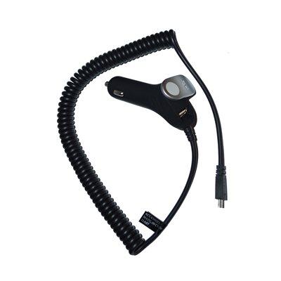 NÜPOWER Car Charger Micro USB 1 Amp Output / USB 1 Amp Output