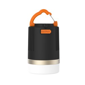 NÜPOWER Lantern and Powerbank charger, 8800 mAh, Black