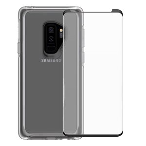 OtterBox Symmetry Case & Screen Protector Bundle for Samsung Galaxy S9 Plus, Clear