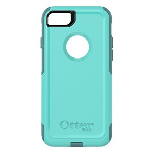 OtterBox Commuter Case for iPhone SE / 8 / 7, Aqua Mint Way