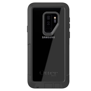 OtterBox Pursuit Case for Samsung GS9 Plus, Black / Clear