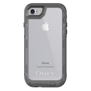 OtterBox Pursuit Case for iPhone SE / 8 / 7, Black / Clear