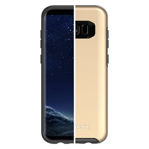 OtterBox Symmetry Case for Samsung Galaxy S8 Plus, Platinum Gold