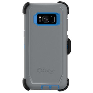 OtterBox Defender Case for Samsung Galaxy S8, Blue / Grey