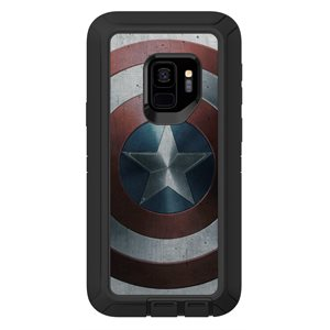 OtterBox Defender Case for Samsung Galaxy S9, Captain America