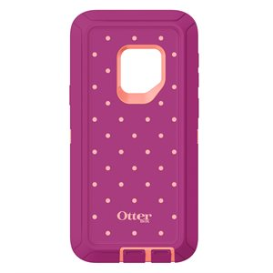 OtterBox Defender Samsung Galaxy S9, Coral Dot