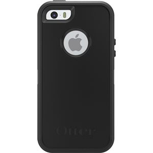 OtterBox Defender Case for iPhone 5s / SE, Black