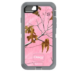 OtterBox Defender Case for iPhone SE / 8 / 7, Camo Pink