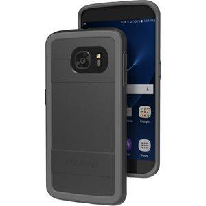 Pelican Protector Case for Samsung Galaxy S7 Edge, Black / Grey