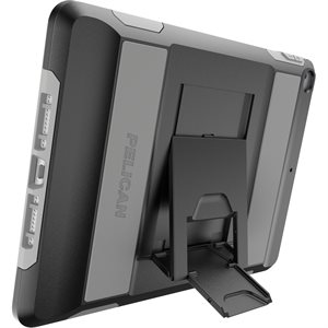 Pelican Voyager Case for iPad 2017 and Air 2, Black / Grey