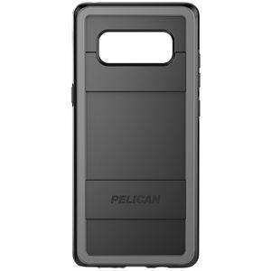 Pelican Protector Case for Samsung Galaxy Note 8, Black / Grey