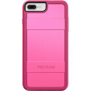 Pelican Protector Case for iPhone 6s Plus / 7 Plus / 8 Plus, Fuchsia / Pink