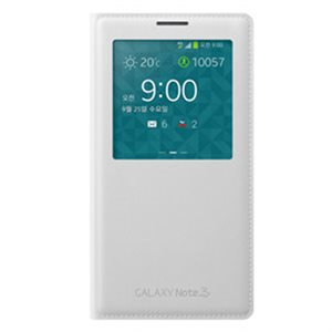 Samsung OEM Galaxy Note 3 S View Cover, White