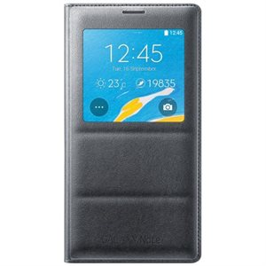 Samsung OEM Galaxy Note 4 S View Cover, Black