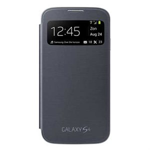 Samsung OEM Galaxy S4 S View Cover, Black