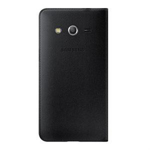 Samsung OEM Galaxy Core LTE Flip Wallet, Black