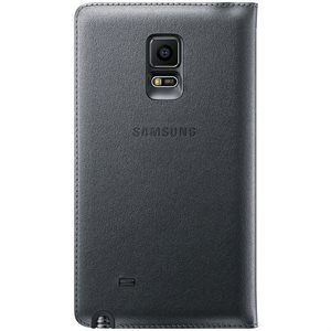 Samsung OEM Galaxy Note 4 Edge Flip Wallet, Charcoal