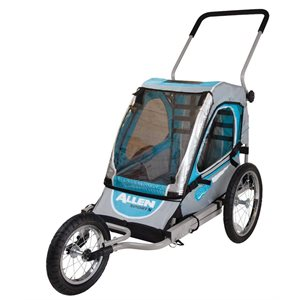SST1 - One Child Jogger and Bicycle Trailer
