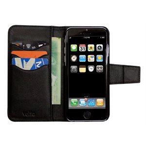 Vetta Folio Case for iPhone 6 Plus / 6s Plus, Black