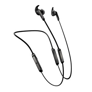 Jabra Elite 45e Bluetooth Stereo Headset, Silver / Black