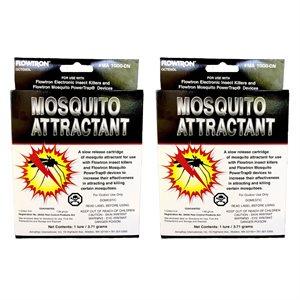 Flowtron Octenol Mosquito Attractant Cartridge 2 Pack